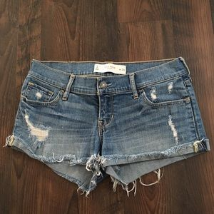 GILLY HICKS | Like New EUC Distressed Shorts
